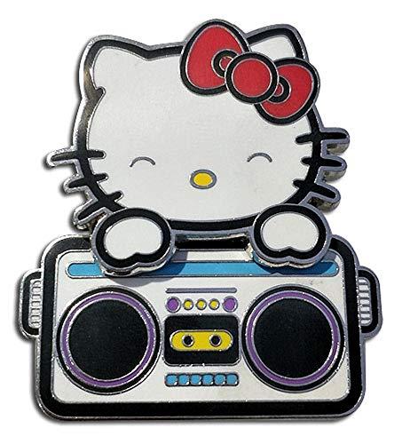 Great Eastern Entertainment Hello Kitty - Hello Kitty Bopping Radio Pin
