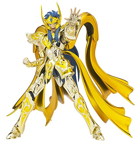 TAMASHII NATIONS Bandai Myth EX Aquarius Camus God Cloth Saint Seiya Action Figure