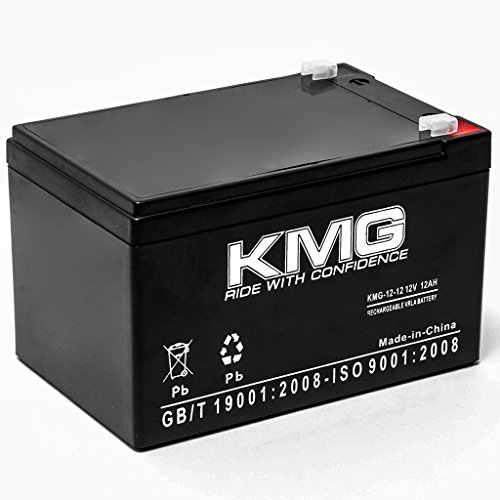KMG 12V 12Ah Replacement Battery Compatible with Kid Trax AVIGO 12-VOLT MINI COOPER KT12V12AHBATT