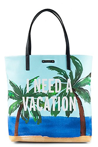 Kate Spade 'I Need A Vacation' Bon Shopper Tote, Multi
