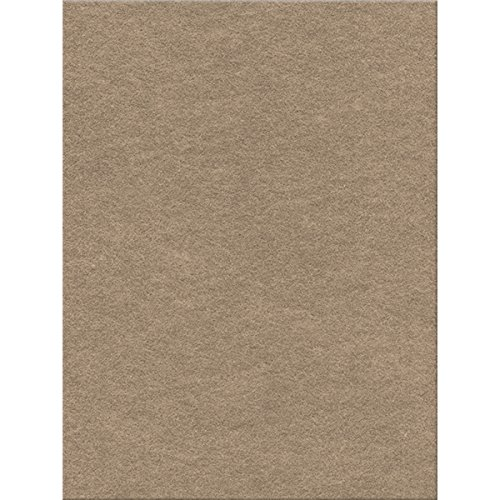 Kunin Eco-Fi Plus Premium Felt (12 Pack), 12' by 18', Sandstone
