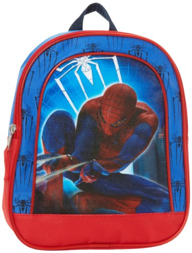 Fast Forward Little Boys' Spiderman Mini Backpack, Blue/Red, One Size
