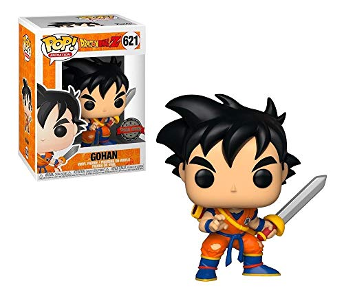 Funko Pop Animation Dragon Ball Z  Young Gohan with Sword Insider Club Exclusive