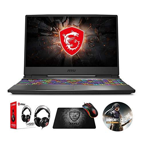 MSI GP65 Leopard 10SFK-047 (i7-10750H, 16GB RAM, 512GB NVMe SSD, RTX 2070 8GB, 15.6' Full HD 144Hz 3ms, Windows 10) Gaming Notebook