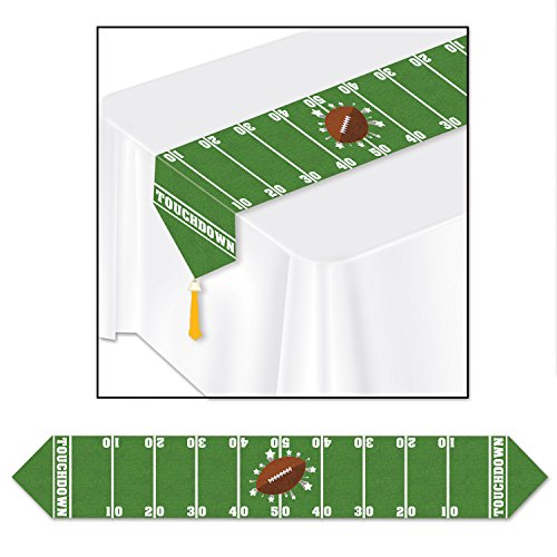 Beistle Printed Game Day Table Runner