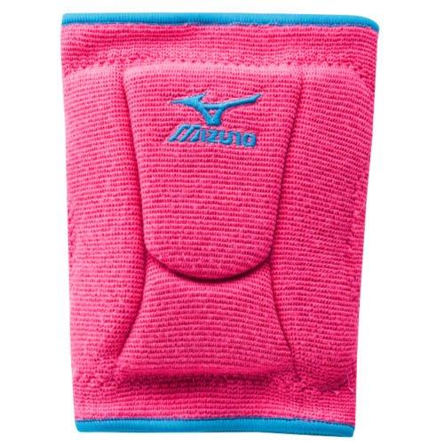 Mizuno Women's LR6 Highlighter Knee Pad, Pink/Diva Blue, Medium