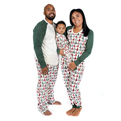 Burt's Bees Baby, Family Jammies, Matching Holiday Pajamas, Organic Cotton PJs, O Christmas Tree, Toddler & Kids, 4T