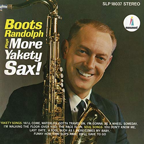 Boots Randolph Plays More Yakety Sax