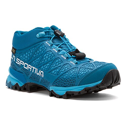 La Sportiva Women's Synthesis Mid GTX Hiking Shoe, Fjord, 42.5 M EU