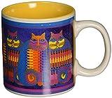 Laurel Burch Artistic Mug Collection, Rainbow Cat Cousins