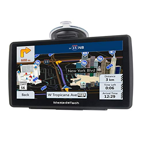 GPS Navigation for Car Truck Newest 2020 Map 7 Inch Touch Screen 8G 256M Navigation System with Voice Guidance and Speed Camera Warning Lifetime Free Map Update