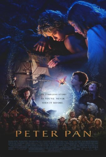 Peter Pan Movie Poster (27 x 40 Inches - 69cm x 102cm) (2003) -(Jason Isaacs)(Jeremy Sumpter)(Rachel Hurd-Wood)(Ludivine Sagnier)(Olivia Williams)(Richard Briers) by MG Poster