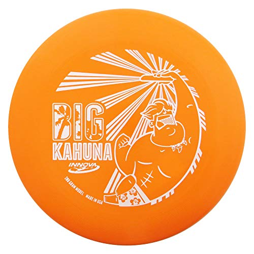 Innova Discs Big Kahuna 200g Heavyweight Ultimate Catch Disc [Hot Stamp Color May Vary] - Dude Design - Orange