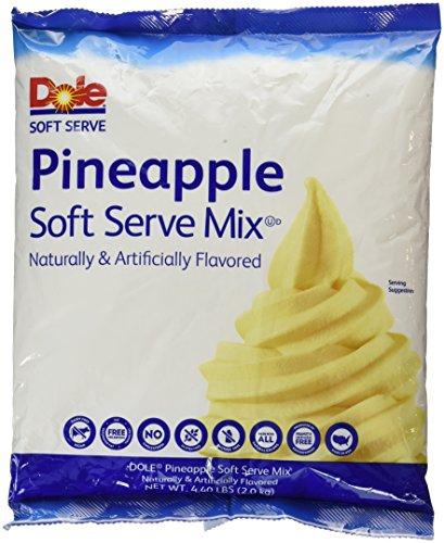 Dole Soft Serve Mix, Pineapple, 4.75 Pound