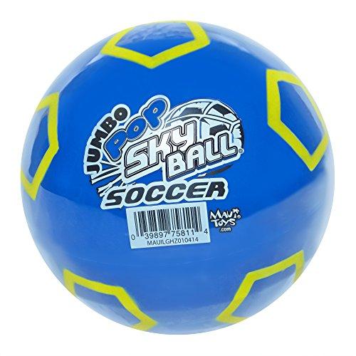 "Maui Toys 5"" Sky Ball, Jumbo Pop Soccer SkyBall, Colors Will Vary, 120mm"