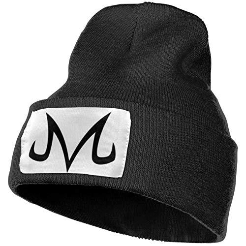 Dragon Ball Z Evil Majin Buu Logo Men Women Slouchy Beanie Winter Hat Knit Warm Snow Ski Cap