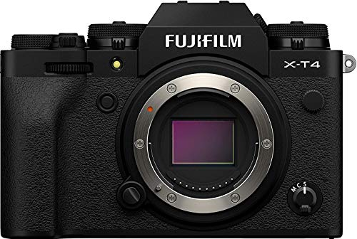 Fujifilm X-T4 Mirrorless Camera Body - Black (Renewed)