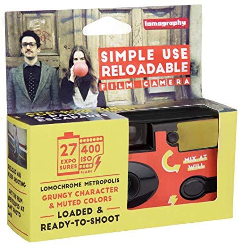 Lomography Simple Use Camera, LomoChrome Metropolis (SUC100MP)