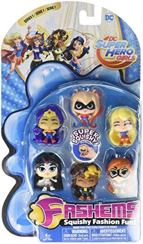 Tech 4 Kids Fash'ems Value Pack Superhero Girls S1 Action Figure