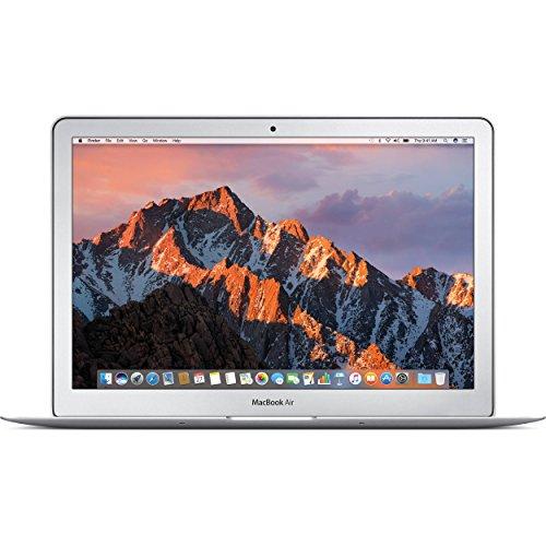 (Renewed) Apple MacBook Air MJVM2LL/A 11.6 Inch Laptop (Intel Core i5 Dual-Core 1.6GHz up to 2.7GHz, 4GB RAM, 128GB SSD, Wi-Fi, Bluetooth 4.0, Integrated Intel HD Graphics 6000, Mac OS)