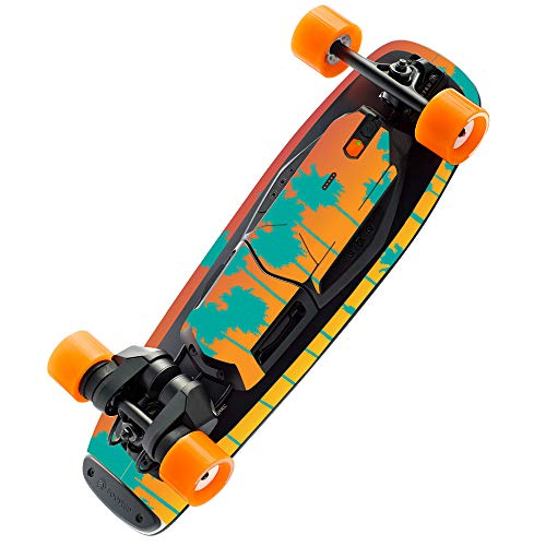 MightySkins Skin Compatible with Boosted Board Mini S - Sherbet Palms | Protective, Durable, and Unique Vinyl Decal Wrap Cover | Easy to Apply, Remove, and Change Styles | Made in The USA