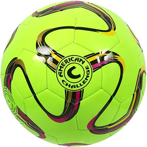 American Challenge Brasilia Soccer Ball (Lime, 5)