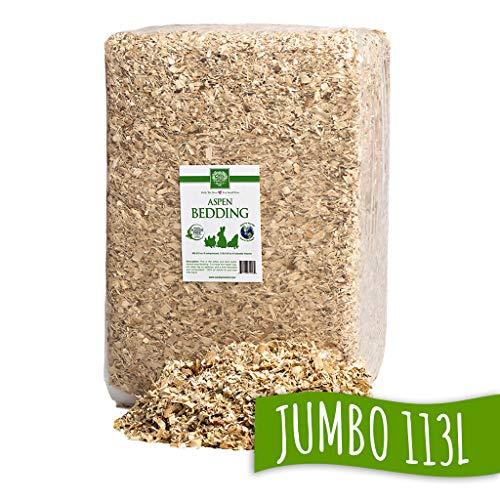 Small Pet Select Jumbo Aspen Bedding, 113L