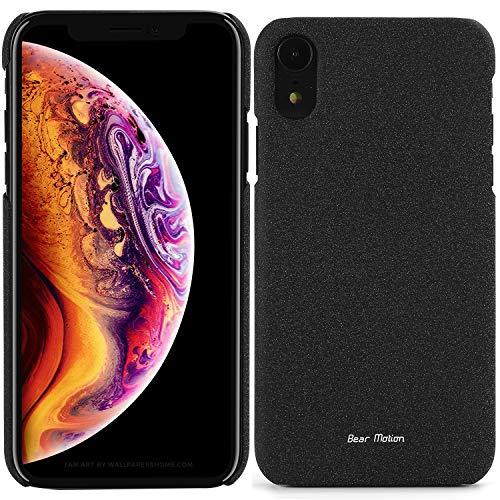 Bear Motion Slim Case for Apple iPhone XR 2018 Model Premium Back Cover for iPhone XR (Black, iPhone XR)