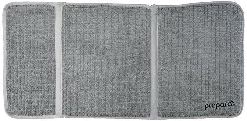 Prepara Gray, Drydock Dish Drying Mat, Extra Large
