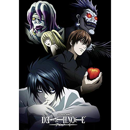 HomMall Japanese Anime Character Poster Hanging Paintings Wall Art Fabric Poster(Death Note)
