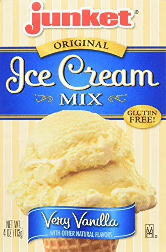 Junket Vanilla Ice Cream Mix 4-ounce (Pack of 3)
