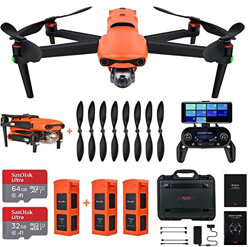 Autel Robotics EVO II 8K Camera Drone Rugged Bundle (2020 Newest)