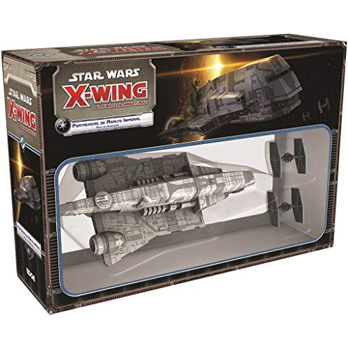 Fantasy Flight Games- X-Wing: Imperial Assault Holder, Colour (EDFEDGSWX35), Assorted Colour/Model