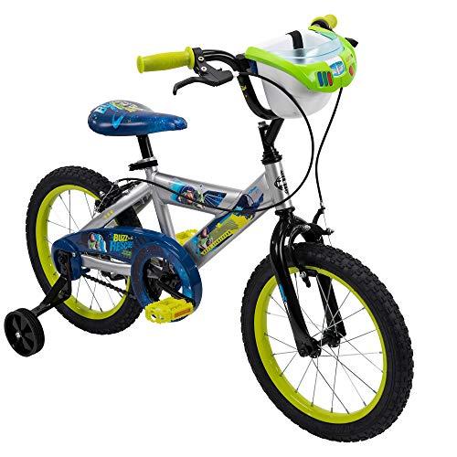 Huffy 16' Disney/Pixar Toy Story Boys Bike, Handlebar Bin, Lime Green