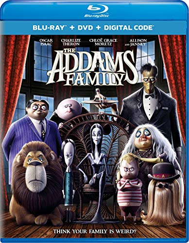 The Addams Family (2019) Blu-ray + DVD + Digital
