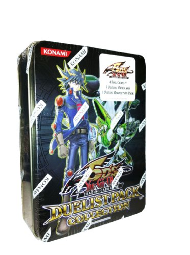 YuGiOh 5Ds 2011 Duelist Pack Collection Tin Frozen Fitzgerald, Underground Arachnid, Zeman the Ape King Hundred Eyes Dragon