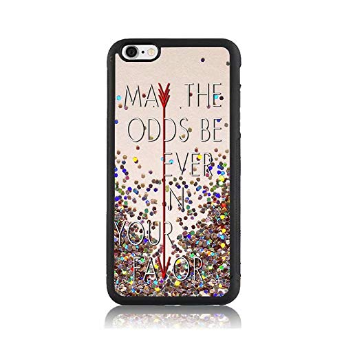 Hunger Games Quote Print Case for Apple iPhone 6s, Shock-Absorption Soft Bumper + Hard Back Cover Anti-Scratch Drop Protection for iPhone 6s