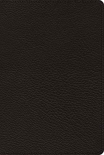 ESV Bible with Creeds and Confessions (Goatskin, Black)