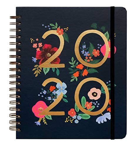 2020 Wild Rose Spiral Bound Planner by Rifle Paper Co.