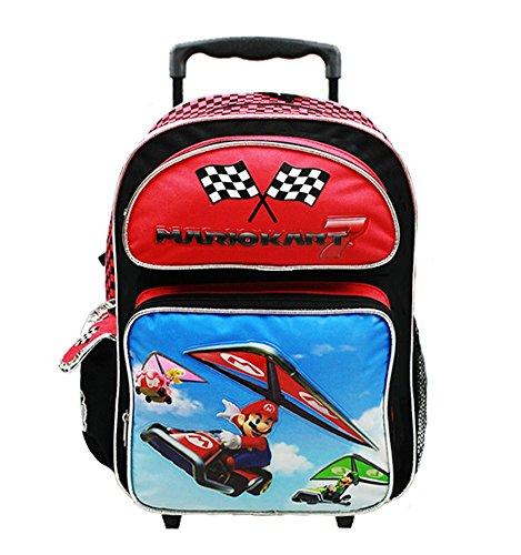 Super Mario Bros. (Mario Kart) Large Rolling Backpack