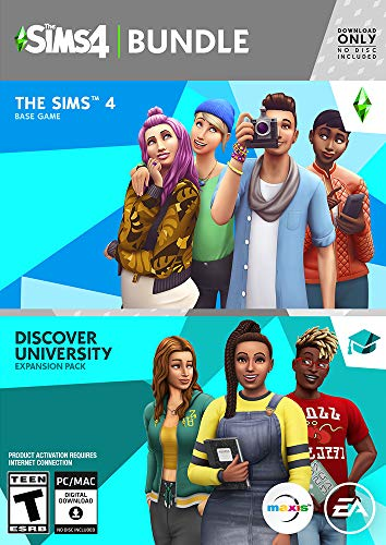 The Sims 4 Plus Discover University Plus Discover University - [PC Online Game Code]