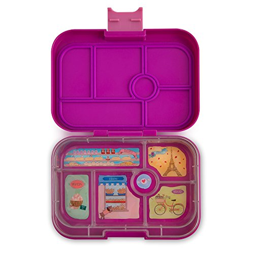 Yumbox Original Leakproof Bento Lunch Box Container for Kids (Bijoux Purple)