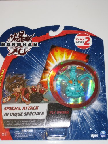 Bakugan Special Attack Fly Wheel Turbine Helios Ventus (Green)