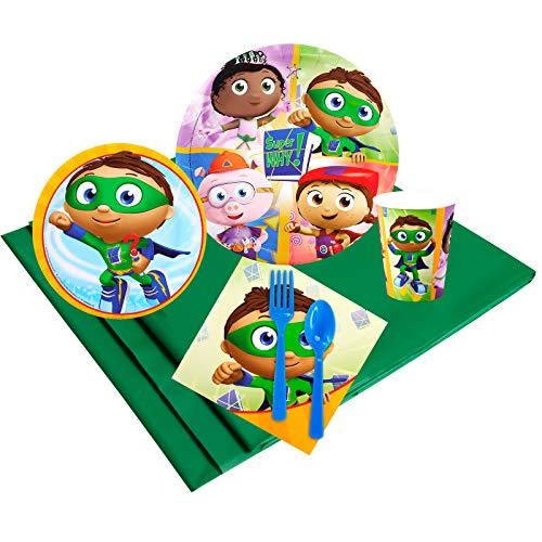 BirthdayExpress Super Why Party Supplies - Party Pack for 8