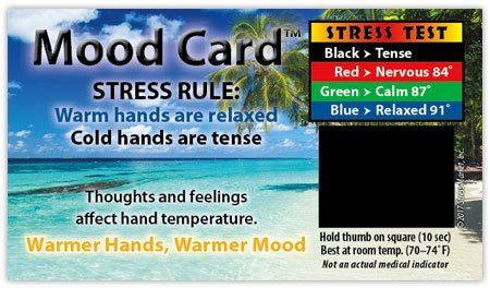 Stress Cards Mood Cards - MC50 Heavy cardstock 100