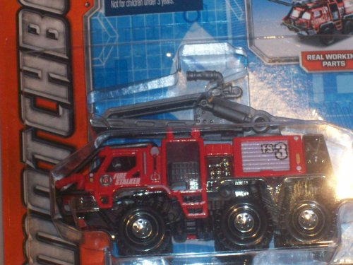 Matchbox 2014 On a Mission: Red Fire Stalker - Real Working Parts!