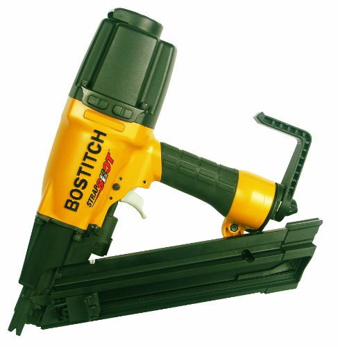 BOSTITCH StrapShot Metal Connector Nailer, 2-1/2-Inch (MCN250S)