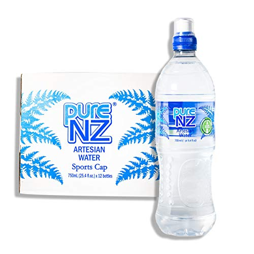 Pure NZ Still Natural Artesian Water from New Zealand, Bottled in NZ, Uncontaminated and Mineral Rich, 100% Recycled Bottle