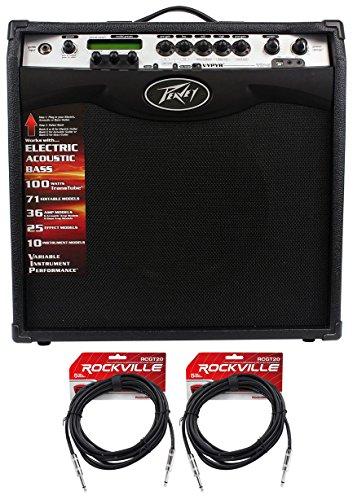 Peavey Vypyr VIP 3 100 Watt 12' Guitar Amplifier W/ MIDI + (2) Cables