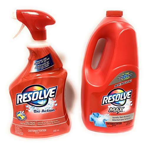 Resolve Oxi-Action (Spray 'N Wash) Trigger & Resolve Max Refill Value Pack, 32 fl.oz Trigger + 61 fl. oz. Refill